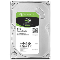 "HDD SEAGATE Barracuda 3,5"" SATA III 1 To"