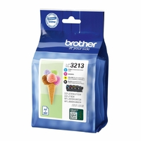 Cartouche d'encre BROTHER LC3213VAL Multipack