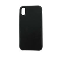 Coque en cuir MOOOV pour iPhone XR Noir