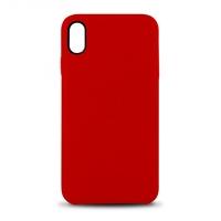 Coque en cuir MOOOV pour iPhone X et XS Rouge