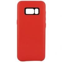 Coque en cuir MOOOV pour Samsung Galaxy S8 Rouge