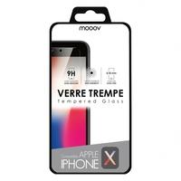 Verre trempé MOOOV pour iPhone X et XS