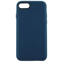 Coque en cuir MOOOV pour iPhone 6+ et 6S+ Bleue Marine
