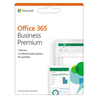 Microsoft Office 365 Business Premium 1 an