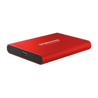 Disque SSD externe SAMSUNG T5 500 Go Rouge