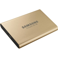 Disque SSD externe SAMSUNG T5 500 Go Or