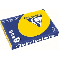 Paquet Clairefontaine A3 160g Jaune d'or