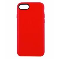 Coque en cuir MOOOV pour iPhone 6 et 6S Rouge