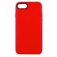 Coque en cuir MOOOV pour iPhone 7 Plus et 8 Plus Rouge