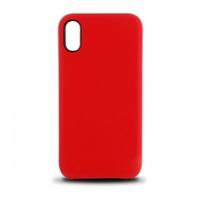 Coque en cuir MOOOV pour iPhone XR Rouge