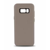 Coque en cuir MOOOV pour Samsung S8 Plus Beige