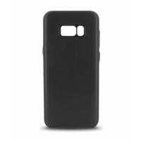 Coque en cuir MOOOV pour Samsung S8 Plus Noir