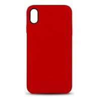 Coque en cuir MOOOV pour iPhone XS Max Rouge