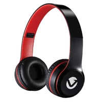 Casque audio VOLKANO Nova Série Rouge