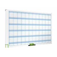 Planning effaçable à sec magnétique NOBO 900 x 600 mm