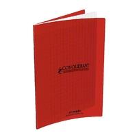 Cahier CONQUERANT 32 pages 17x22cm Séyes Rouge