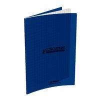 Cahier CONQUERANT 48 pages 17x22cm Séyes Bleu