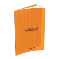 Cahier CONQUERANT 48 pages 17x22cm Séyes Orange