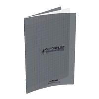 Cahier CONQUERANT 96 pages 17x22cm Séyes Gris
