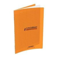 Cahier CONQUERANT 96 pages 17x22cm Séyes Orange