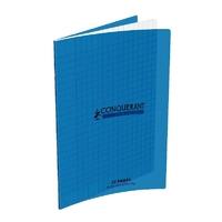 Cahier CONQUERANT 32 pages 17x22cm Séyes Bleu