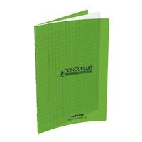 Cahier CONQUERANT 96 pages 17x22cm Séyes Vert