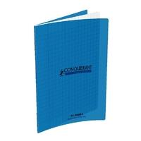Cahier CONQUERANT 96 pages 17x22cm Séyes Bleu
