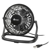 Mini ventilateur USB HEDEN 96 mm Noir