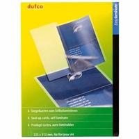 6 pochettes pour plastification à froid 22,5 x 31,2 cm