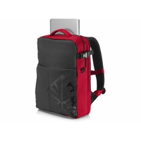 "Sac à dos HP Omen Backpack 17,3"" noir et rouge"
