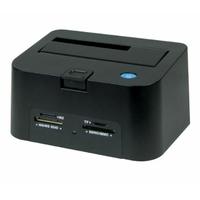 Station d'accueil pour 1 HDD SSD Hub et lecteur de cartes