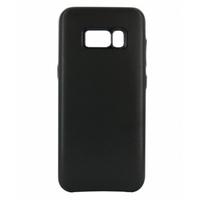 Coque en cuir MOOOV pour Samsung Galaxy S8 Noire