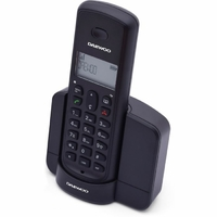 Téléphone fixe sans fil DAEWOO DTD-1350 Noir