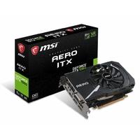 Carte graphique MSI GeForce GTX 1060 AERO ITX 6 Go OC