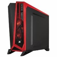 Boîtier CORSAIR Carbide Spec-alpha Fenêtre Noir Rouge