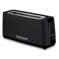 Grille pain TECHWOOD TGP-406 Jumbo 1 fente 900W