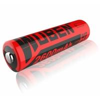 Batterie Li-Ion WUBEN 2600 mAh 3.7V 18650