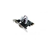 Carte PCI-E 1x 2 ports Série RS232