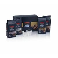 Coffret DELONGHI 2 tasses et 4 sachets de café