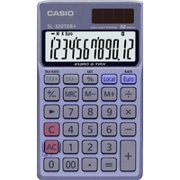 Calculatrice de poche CASIO SL-320TER+ Bleue