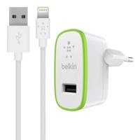 Chargeur secteur BELKIN 2.4A 5V avec câble Lightning