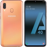"Smartphone SAMSUNG Galaxy A40 A405F 5,9"" Corail"