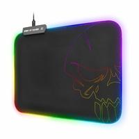 Tapis de souris SOG Skull M RGB Gaming