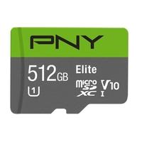 Micro SDXC PNY Elite 512 Go Classe 10 UHS-I U1