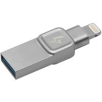 Clé USB Lightning KINGSTON BOLT Duo 32 Go Argent