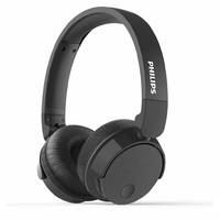 Casque à réduction de bruit PHILIPS TABH305BK Bluetooth Noir