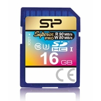 Carte SDHC SILICON POWER Superior Pro 16 Go Classe 10