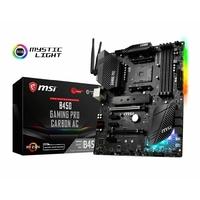 Carte mère ATX MSI B450 Gaming Pro Carbon AC (AM4)
