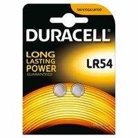 Blister de 2 piles DURACELL Alcaline LR54 1,5V