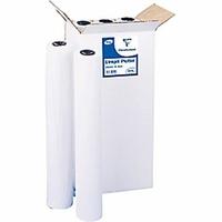 Papier pour traceur blanc 60g/m² 91.4cmx60m 6 feuilles
